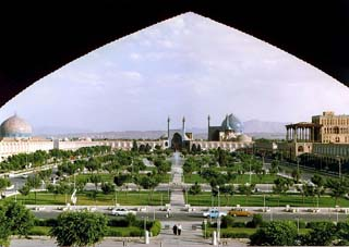 Gardens at Naghsh-i Jahan Square