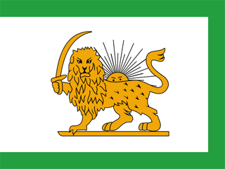 Qajar state flag