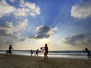 Beach, Tel Aviv, Israel