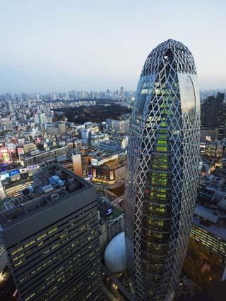 Tokyo Mode Gakuen Cocoon Tower, Design School Building, Shinjuku, Tokyo, Japan, Asia
