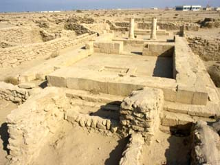 Ruins of Greek or Alexandrian Settlement, Failaka Island, Kuwait, Middle East