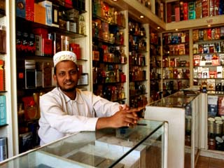 Perfume Shop Owner in Old Souq, Kuwait