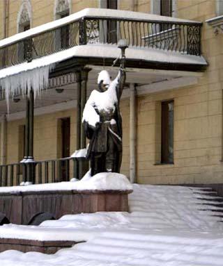 Kyrgyzstan winter