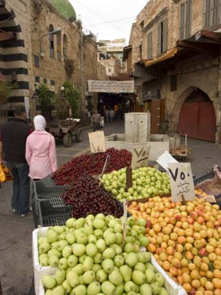 Fruit Seller, Tripoli, Lebanon, Middle East