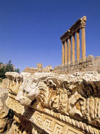 Temple of Jupiter, Baalbek, Bekaa Valley, Lebanon