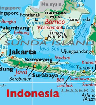 Map Of Semarang Indonesia Semarang Indonesia Photos   Semarang Map and Information   World Atlas