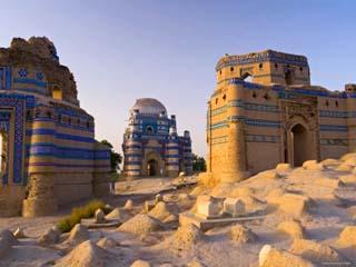 15th Century Mausoleum of Bibi Jawindi, Uch Sharif, Pakistan