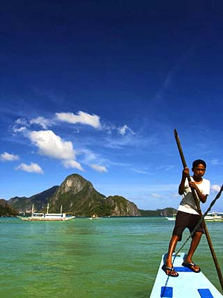 Cadlao Island, Bacuit Bay, El Nido Town, Palawan Province, Philippines, Southeast Asia