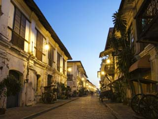 Spanish Old Town, Vigan City, Ilocos Province, Luzon Island, Philippines, Southeast Asia