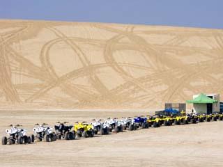 Quad Bikes, Desert Dunes, Qatar, Middle East