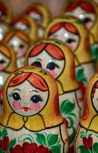 nested dolls russia