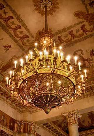 hermitage chandelier