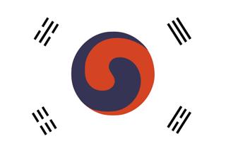 Flag of South Korea 1882