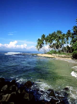 Beach Near Galle, Sri Lanka, Indian Ocean