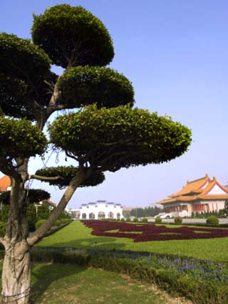 Chiang Kai-Shek Memorial Park National Theatre, Taiwan