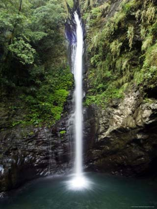 Maolin Valley Waterfall, Maolin, Kaoshiung County, Taiwan