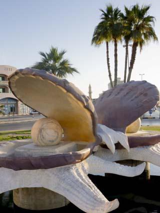 Pearl Monument, Ras Al Khaimah, United Arab Emirates, Middle East