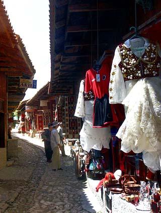 Albania bazaar