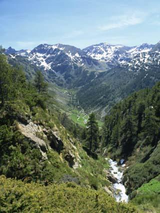 Towards Vall D'Incles and El Siscaro, Riu De Cabana Sorda Ravine, Vall D'Incles, Soldeu, Andorra