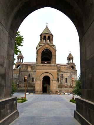 Echmiadzin, UNESCO World Heritage Site, Armenia, Caucasus, Central Asia, Asia