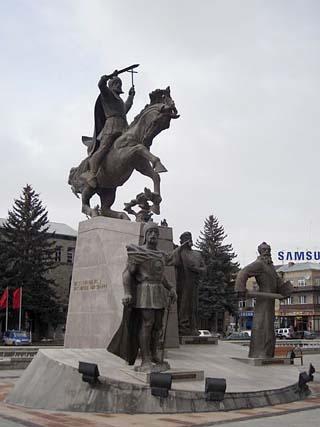 Saint Vartan Statue