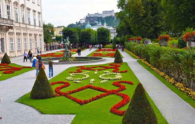 mirabella gardens salzburg
