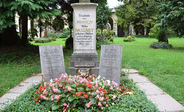 mozart gravesite salzburg