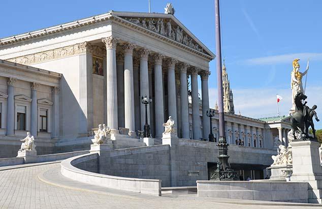 parliament building vienna