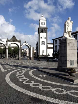 Three Arches, Ponta Delgada, Sao Miguel Island, Azores, Portugal