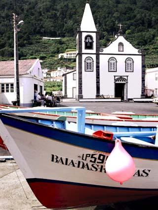 Santa Cruz Church, Ribeiras, Island of Pico, Azores, Portugal, Atlantic
