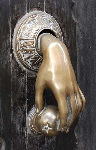 stylish doorknob