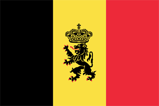 belgian government ensign