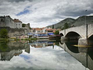 Republika Serbska, Trebisnjica River, Trebinje, Bosnia-Hercegovina
