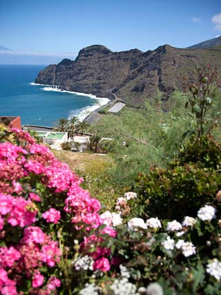Mountain Landscape, La Gomera, Canary Islands, Spain, Atlantic, Europe