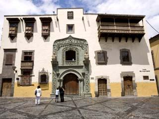 Columbus House, Pilar Nuevo Square, Vegueda, Las Palmas, Gran Canaria, Canary Islands, Spain
