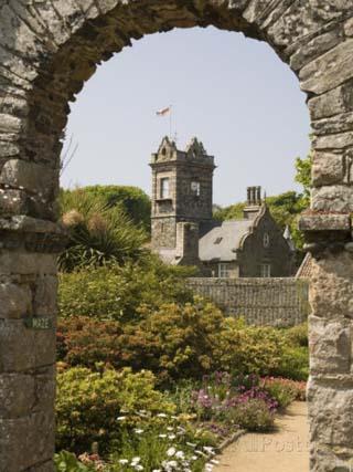 La Seigneurie Garden, Sark, Channel Islands, United Kingdom, Europe