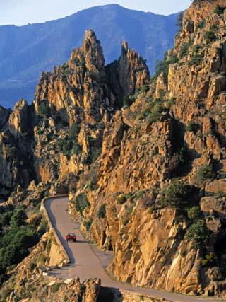 Calanche, Corsica, France