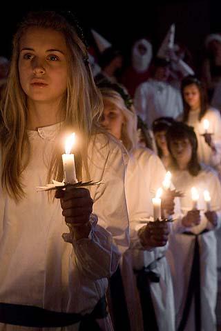Denmark St Lucy Day