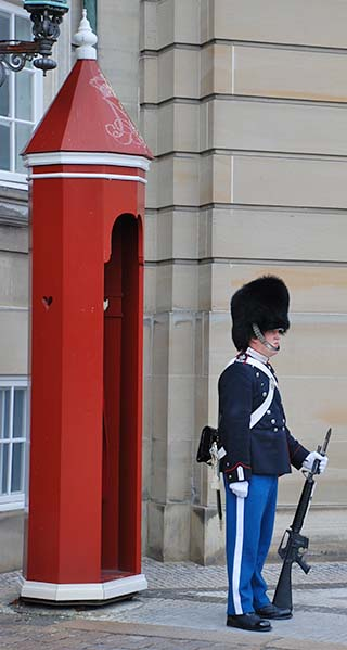 palace guard copenhagen