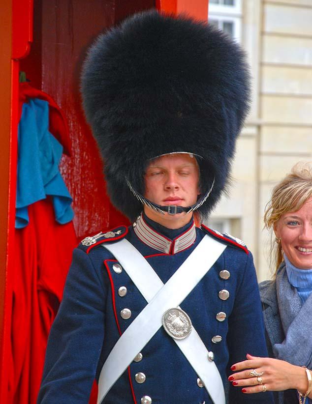palace guard copenhagen