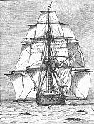 English Naval Vessel