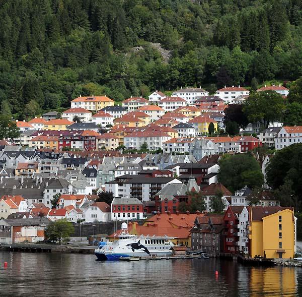 hillside house, bergen norway