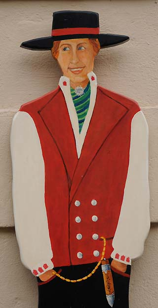 norway costume bergen