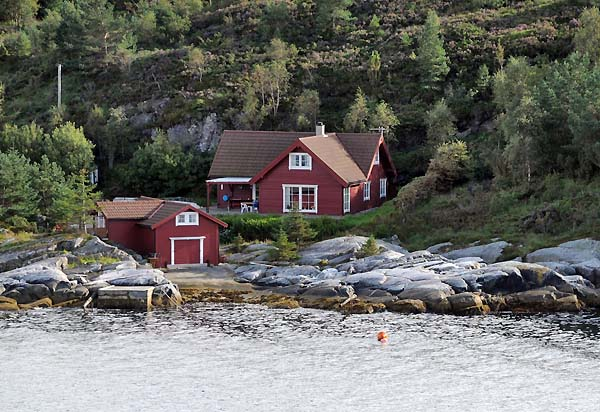 red house bergen norway