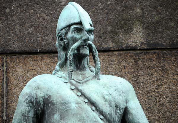 viking statue bergen norway