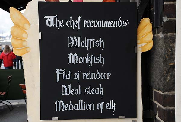 bergen norway menu