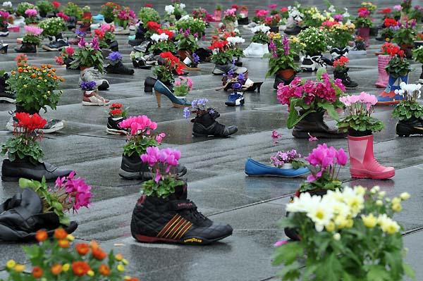 shoe memorial bergen norway
