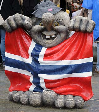 troll bergen norway