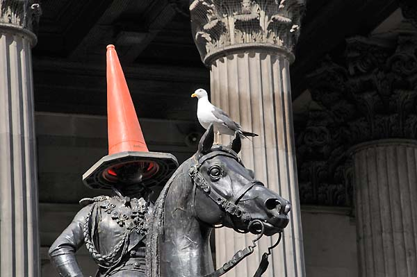 duke of wellington statue glasgow