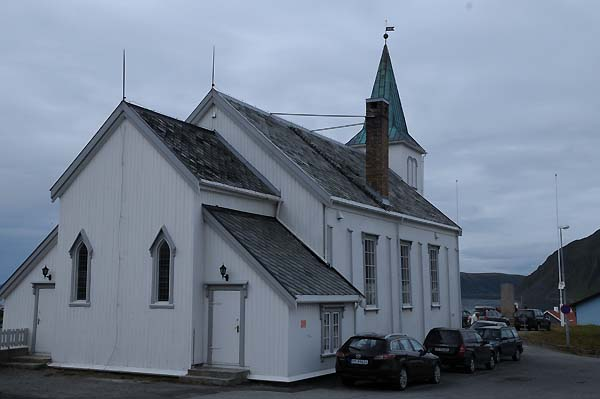 honningsvag church norway